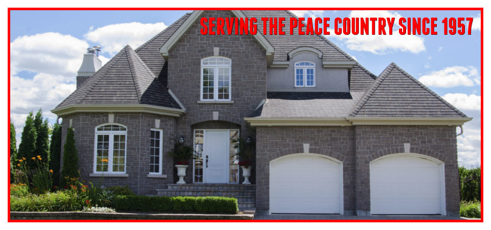 Serving the Peace Country since 1957 - large home
