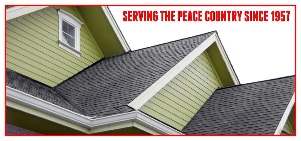 Serving the Peace Country since 1957 - roofline
